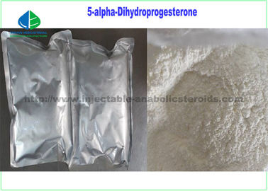 China Reinheits-weißes rohes Pulver CASs 566-65-4 99% 5 - Alpha - Dihydroprogesterone 5α-DHP, allopregnanedione usine